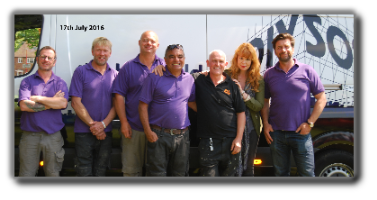 I'm proud to say we have helped on a DIY SOS project.